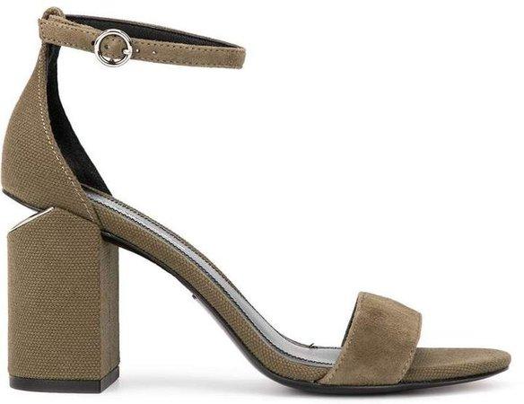Abby block heel sandals