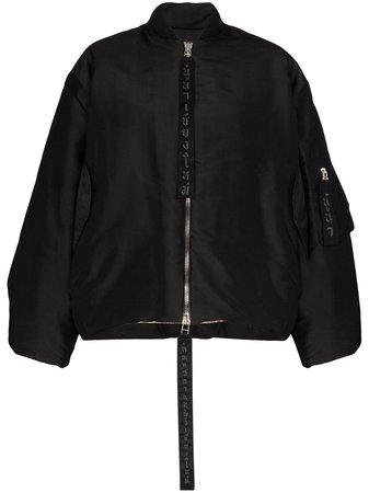 Carcel Queens Zip Front Bomber Jacket - Farfetch
