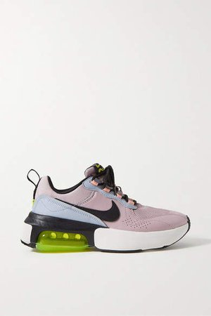 Air Max Verona Leather And Mesh Sneakers - Lilac