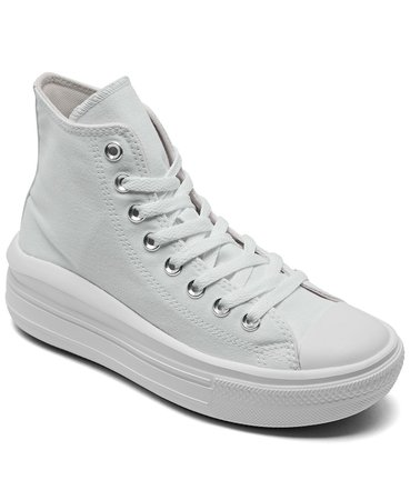 Converse Women's Chuck Taylor All Star Move Platform High Top Casual Sneakers & Reviews - Finish Line Athletic Sneakers - Shoes - Macy's