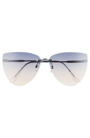 BP. 63mm Rimless Oversize Cat Eye Sunglasses | Nordstrom