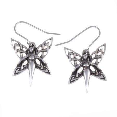 dragonmoon.ca | Celtic Fairy Drop Earrings