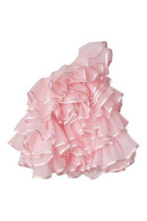 MARC JACOBS - pink ruffles top