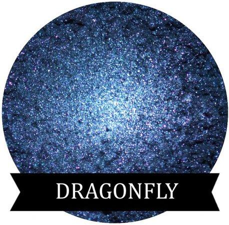 Dark Blue Mineral Eyeshadow Pigment DRAGONFLY | Etsy