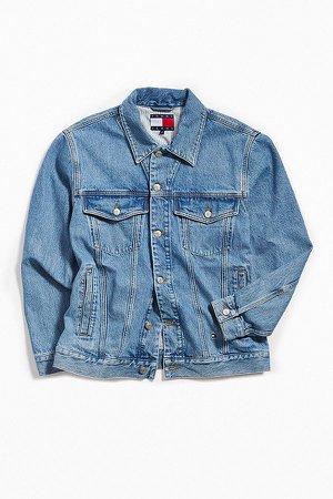 Tommy Jeans '90s Logo Denim Jacket $199.00