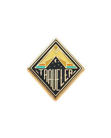 Traveler Pin – Strange Ways