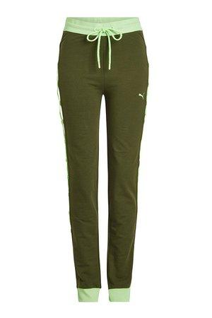 FENTY Puma by Rihanna - Lace-Up Sweatpants - green