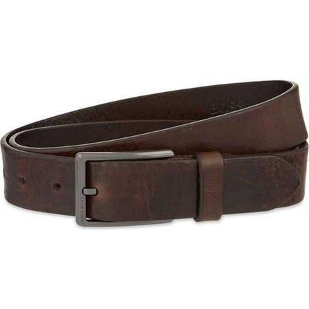 HUGO BOSS Sammy leather belt ($110)