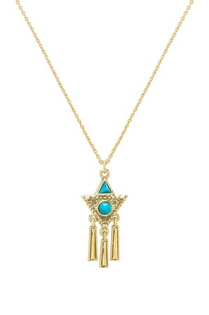 X REVOLVE Durango Triangle Necklace