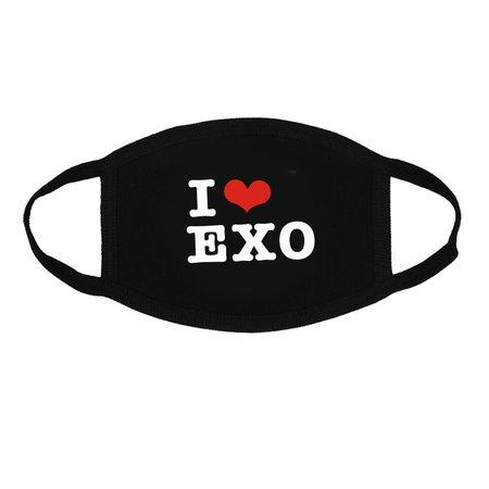 EXO Kpop Mouth Shield/ Face Mask | 11street Malaysia - Face