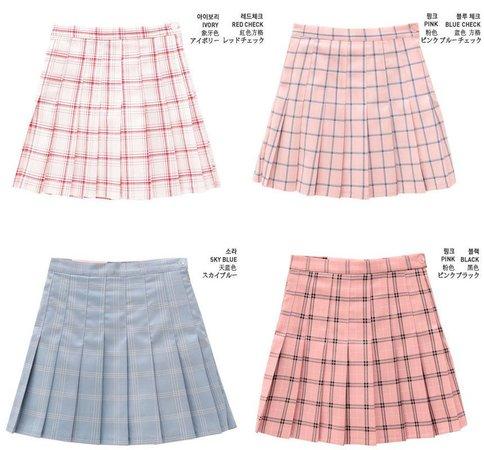 chuu pleated skirt