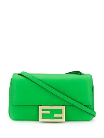 Fendi Mini FF Crossbody Bag - Farfetch