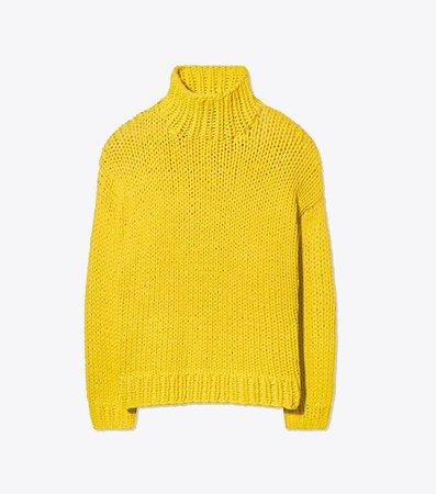 Tory Burch Hand-knit Sweater : Women's coming & going | Tory Burch