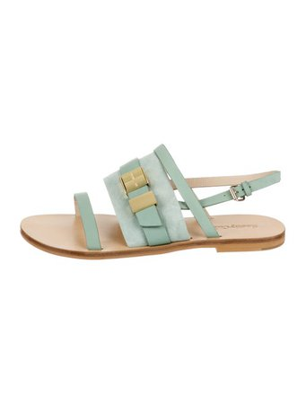 See by Chloé Suede Ankle Strap Sandals - Shoes - WSE40538 | The RealReal