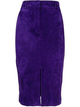 Tom Ford high-waist slit pencil skirt