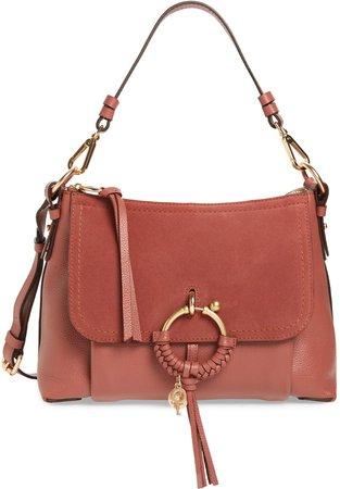 Small Joan Leather Shoulder Bag