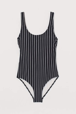 Swimsuit with Padded Cups - Black