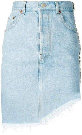 Forte Dei Marmi asymmetric length skirt