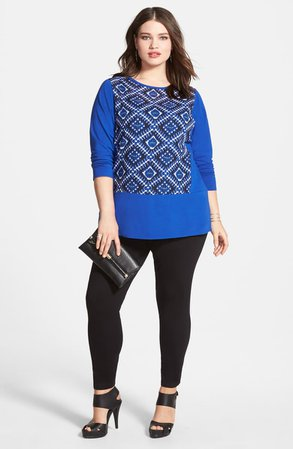 Vince Camuto High Rise Leggings (Plus Size) | Nordstrom