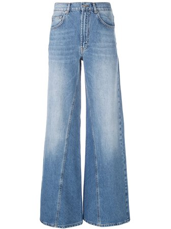 Ganni Wide Leg Jeans Ss20 | Farfetch.com