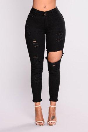 Fool For You Ankle Jeans - Black, Jeans | Fashion Nova