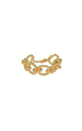 Avani 24K Gold-Plated Chain Bracelet by VALÉRE