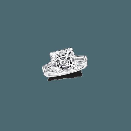 Classic Graff | Square Emerald Cut Ring, Diamond | Graff
