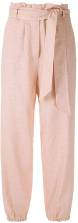 Nk rustic linen clochard trousers