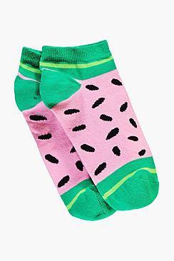 Watermelon Trainer Socks