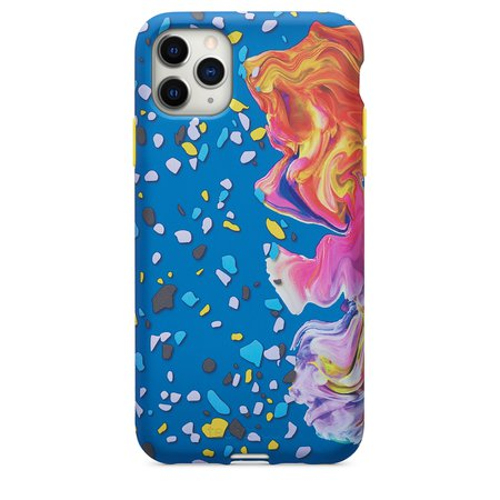 Tech21 Remix in Motion Case for iPhone 11 Pro Max - Blue - Apple