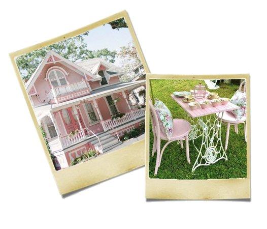 pink cottagecore