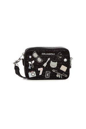 K/Klassik Camera Bag with Leather Gr. One Size