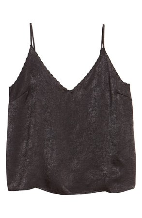 BP. Scalloped Satin Camisole | Nordstrom
