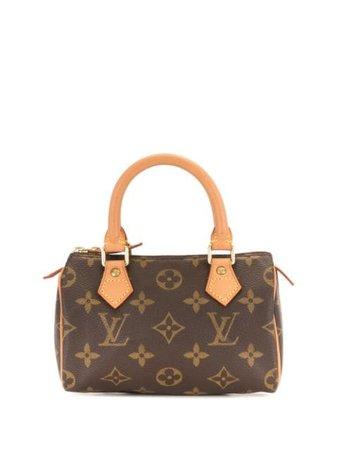 Louis Vuitton 2000 pre-owned Speedy mini bag brown M41534 - Farfetch