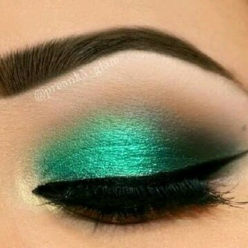 green eyeshadow looks - Google Search