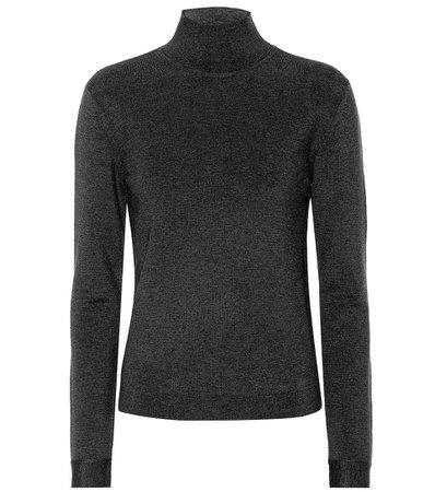 Agnona, Stretch-wool turtleneck sweater