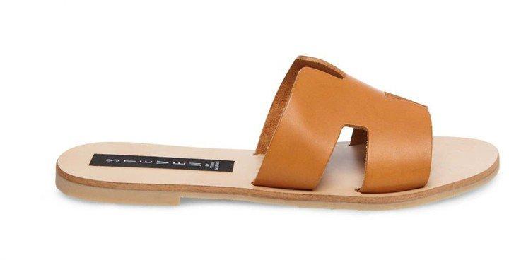 Greece Cognac Leather