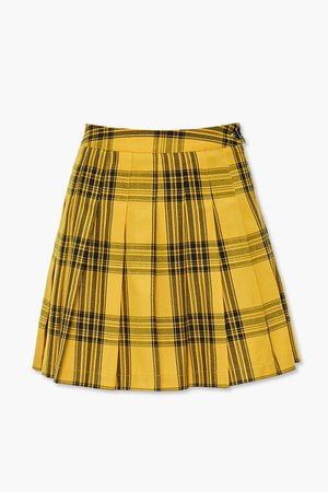 Pleated Plaid Mini Skirt | Forever 21