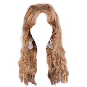Blonde Hair PNG Bangs