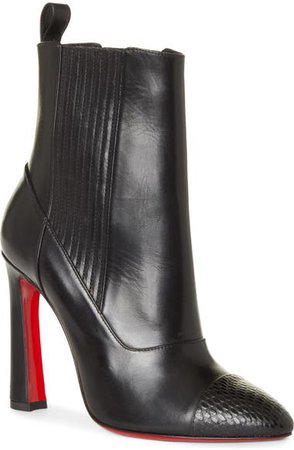 Christian Louboutin Me in the '90s Pointy Toe Bootie (Women) | Nordstrom