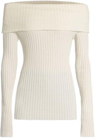 The Row Tulah Silk-Blend Sweater
