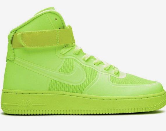 Neon Green Nike