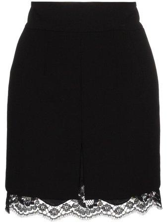 Dolce & Gabbana Lace Trim Skirt - Farfetch