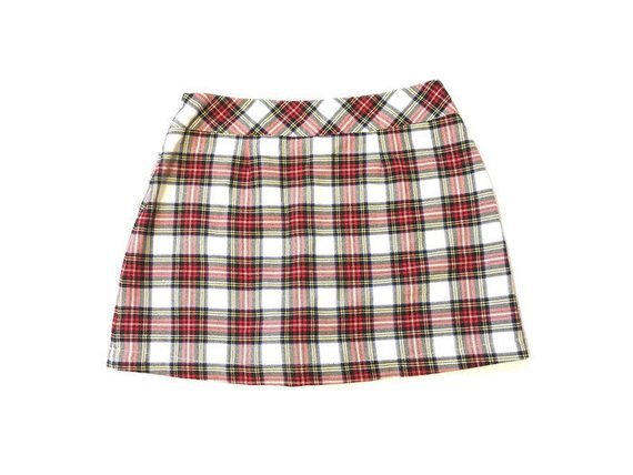 90s Plaid Limited Too Mini Skirt | Etsy