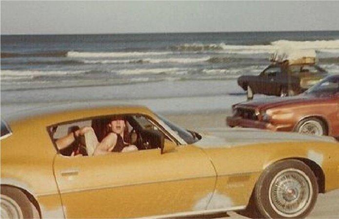 70s Cars on Beach