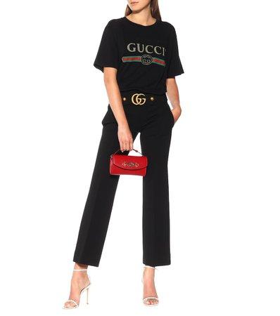 Printed Cotton T-Shirt | Gucci - mytheresa