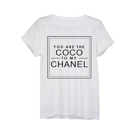 Coco to my Chanel Tee ($32)