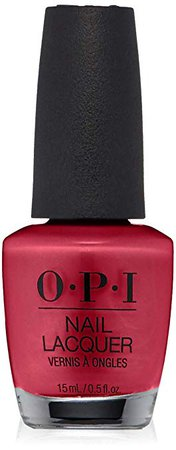 OPI Nail Lacquer, California Raspberry