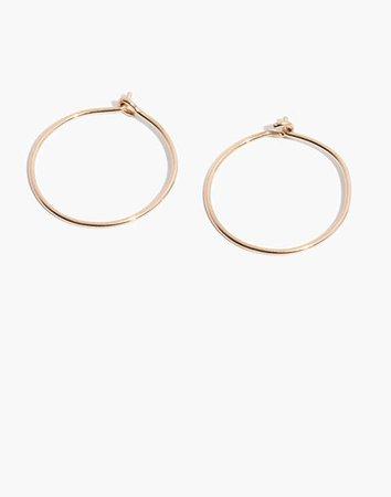 Women's 14k Gold-Filled Hoop Earrings | Madewell