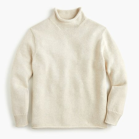 J.Crew: Unisex 1988 Cotton Rollneck™ Sweater